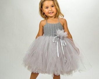 Baby Girl Tutu Dress. Baby Flower Girl Tulle Dress от AylinkaShop