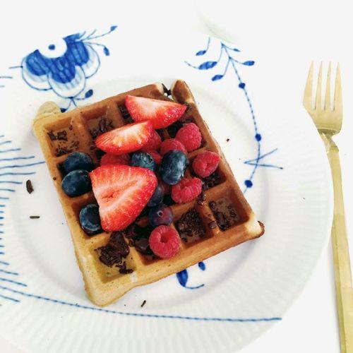 Morgenmadsvafler - GreenGoddessGuide