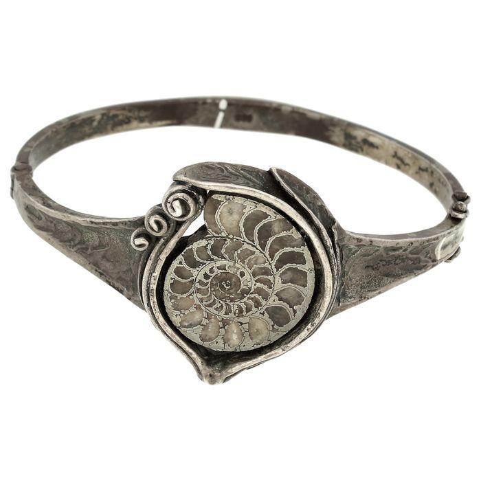 Zilveren vintage armband