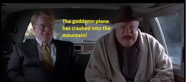 the g*ddamn plane has crashed into the mountain!: G Ddamn Planes
