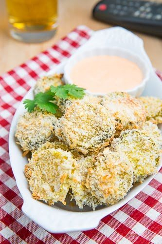 BEER BATTERED CRIPSY BAKED PICKLE FRIES 48 slices of pickles, drained and pat dry with paper towels  1/2 cup flour  1/2 cup beer, buttermilk or milk  1 egg, lightly beaten  1 teaspoon creole seasoning (optional) - link this  1 cup panko bread crumbs