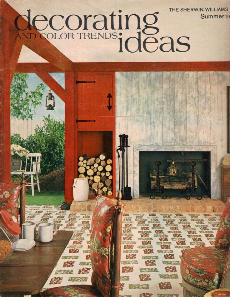 Hippie decor & more 1960s interior design ideas - 15 pages of rooms from  1969 | 1960s interior, Interiors and Retro renovation