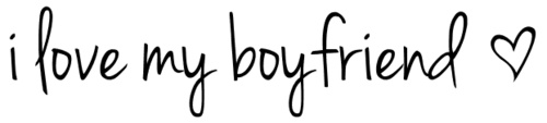 Hmm, looks like yesterday was National Boyfriend Day. I don't have one right now but I'm torn between liking a guy who won't give me the time of day & a guy who likes me but probably only wants one thing. -.- how awesome.