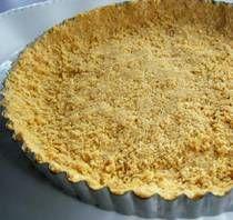 Gluten-free graham cracker pie crust.  Now I'm going to make cheese cake!