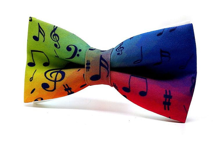Colourful Music,  colourful bow tie