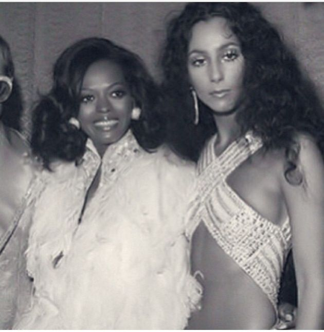Diana Ross and Cher