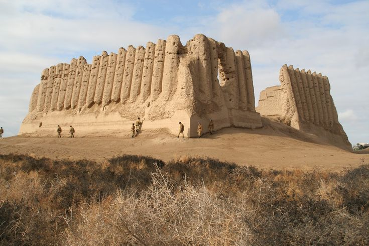 Merv is the oldest and best-preserved of the oasis-cities along the Silk Route in Central Asia. The remains in this vast oasis span 4,000 years of human history. A number of monuments are still visible, particularly from the last two millennia.