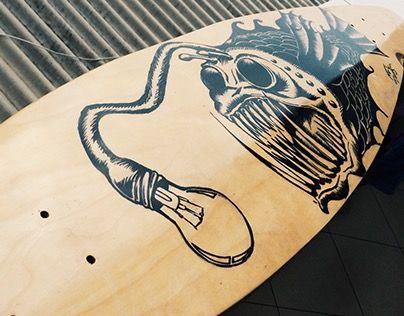 "Check out new work on my @Behance portfolio: ""Longboard Peixe Pescador"" http://on.be.net/1e6334K"