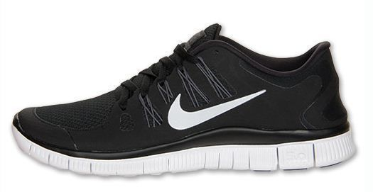 black and white nike free womens
