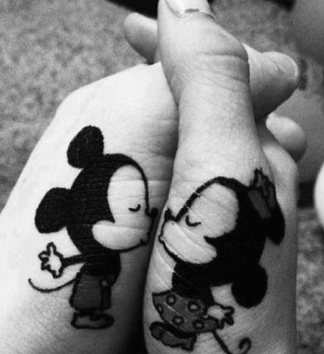 . . . being in Love is like - being stupid together.