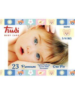 Trudi Baby Care Pannolini Dry Fit 3/6 kg Morbidi Per Bambini di Trudi € 4,20