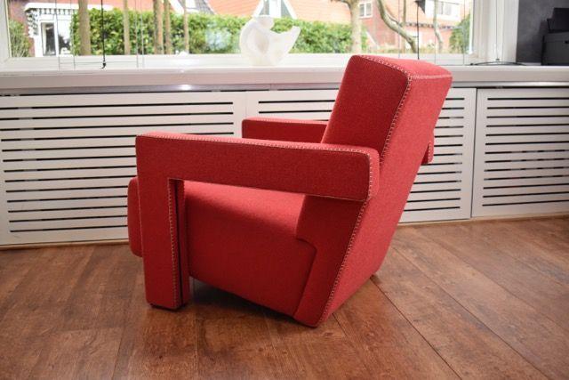 Gerrtit T. Rietveld voor Cassina- Utrecht fauteuil