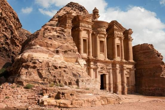 The Real Adventurer's Guide to the Ancient City of Petra. Visitor numbers to the iconic ruins of Petra, in the Jordanian desert, have dropped by half in the last five years. But fearless travelers don't give up that easily. Here's the best way to see one of the world's most astounding archaeological sites..