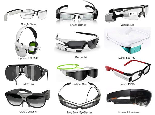 Smart Glasses Market Report 2015 :: AugmentedReality.Org