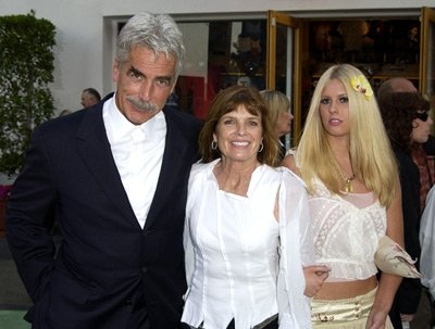 Sam Elliott, Katharine Ross, daughter