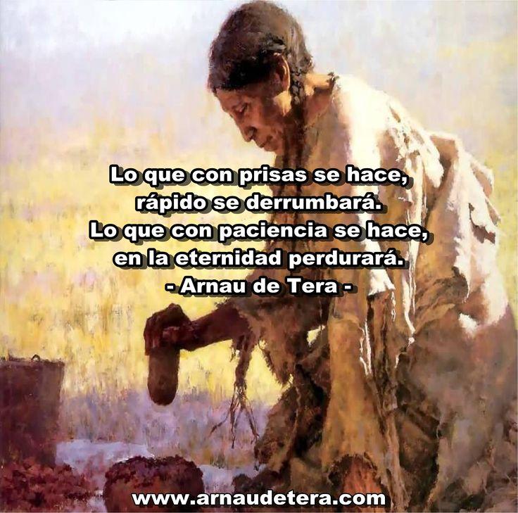 Arnau de Tera  www.arnaudetera.com