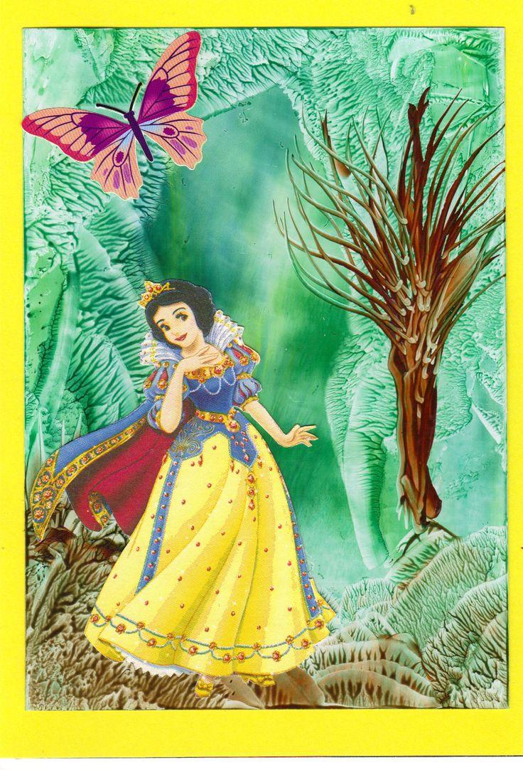 Encaustic prinsessenkaart