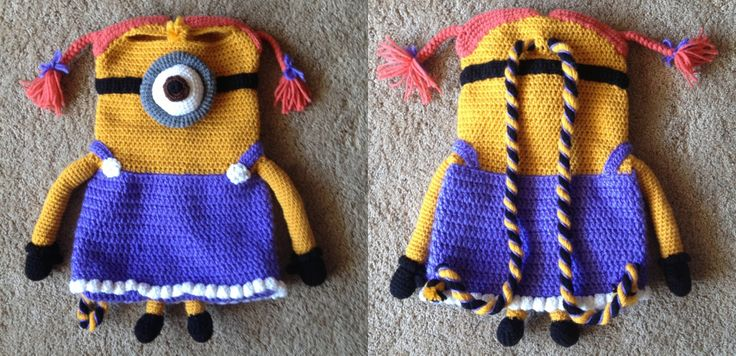 17 Best images about Backpacks on Pinterest Crochet ...