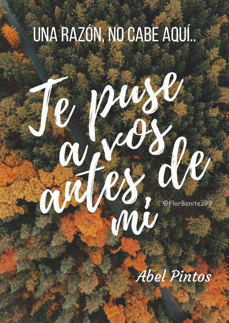 Una Razón! #FrasesABELPintos #AbelPintos #Frases #Canciones #Argentina