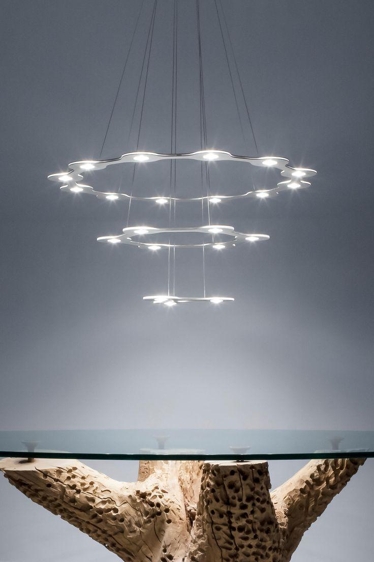 #flatsturn3 #italiandesign #illuminazione #lumencenter #sospensione #ambiente
