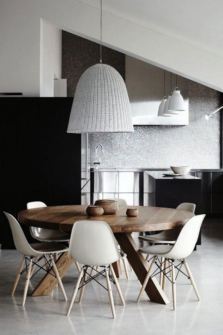 Modern Round Kitchen Tables 25 Best Ideas About Round Dining Tables On Pinterest Round