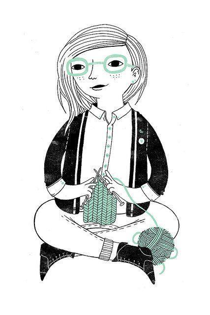 Knitting . . .
