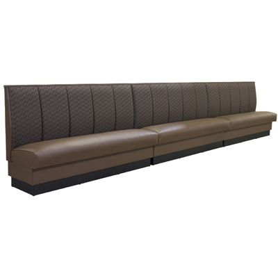 3-Channel Back Upholstered Banquette Seating as-423-banquette from $494.99