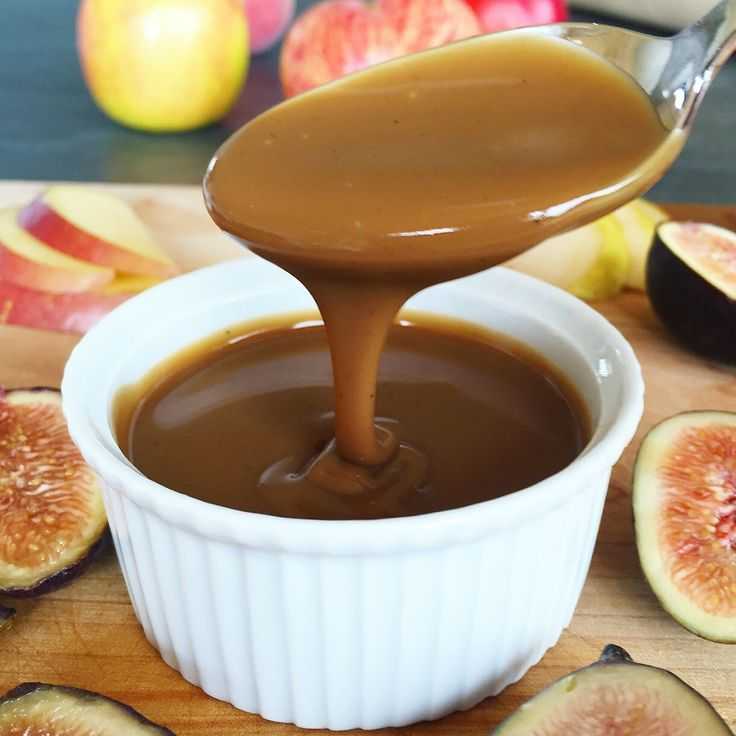 Spiced Coconut Milk Dulce de Leche ( Vegan Caramel Sauce) | The Feel Good Kitchen