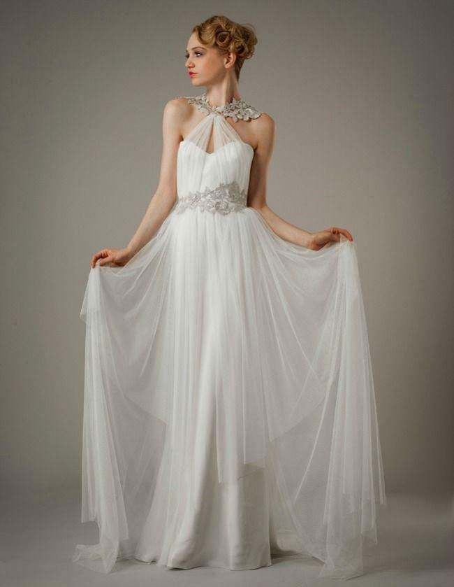 grecian style wedding dresses | Swoon-Worthy Grecian Wedding Gowns