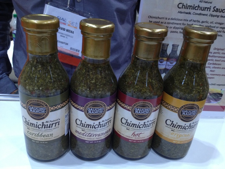 This company really knows their chimmichuri!  From classic to regional.