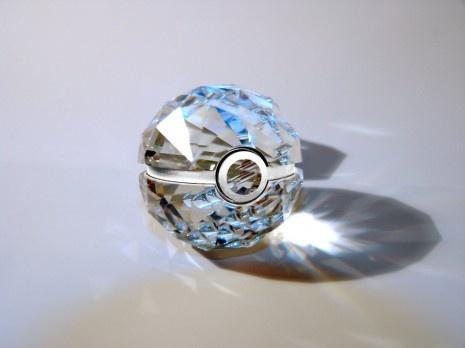oh my a diamond pokeball....
