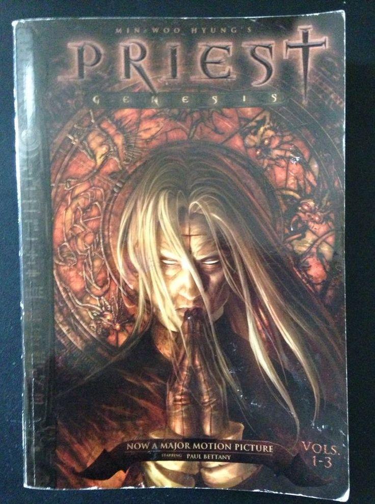 Priest Genesis Vols 1-3 Min Woo Hyung Tokyopop Manga (English) Paperback 2002