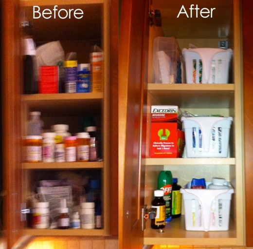 Kitchen Cabinet Labels: 79 Best Organized Home Images On Pinterest