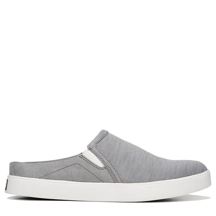 Dr. Scholl's Women's Madi Memory Foam Mule Shoes (Grey Aurorack Fabric)