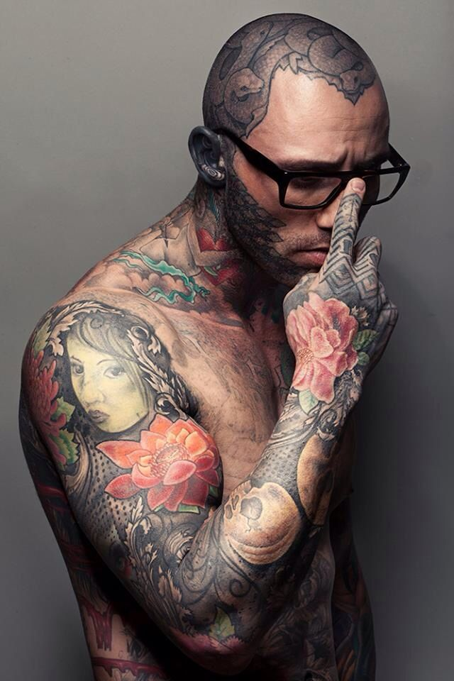 291 best neck and chest tattoos images on pinterest for Chest and neck tattoos