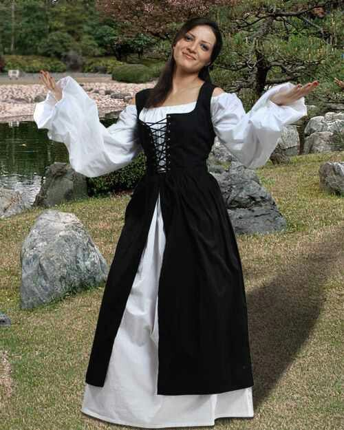 This is one of the ensembles I would possibly wear around my house.It seems to be of a comfortable size to wear to lounge in, and if I have a need to go out, I can do so without seeming immoral.
