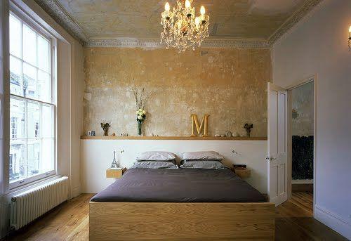 Tea For Joy: Interior inspiration: bare plaster