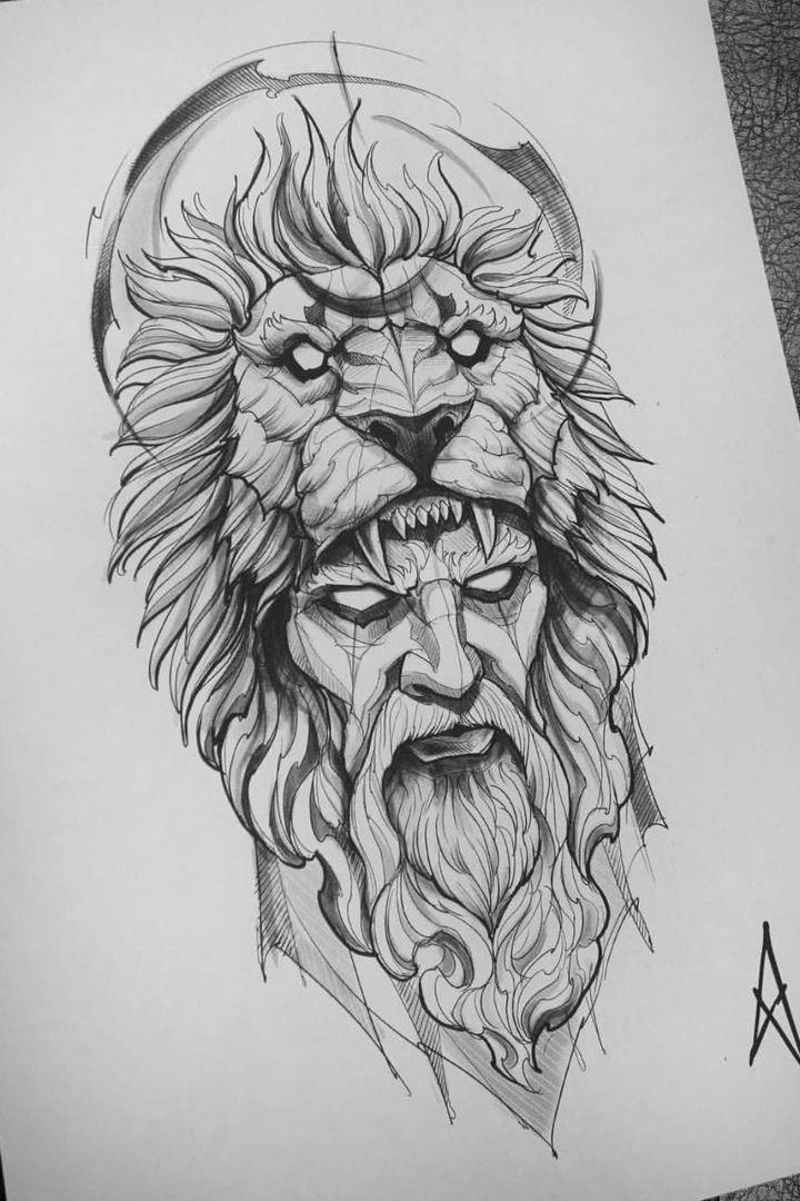 lion head tattoo sketch – zeichnen – #Lion #Sketch #tattoo #zeichnen - WTIIPRN