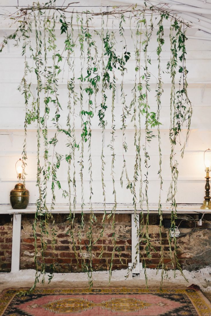 Greenery Backdrop Entertaining And Parties Pinterest