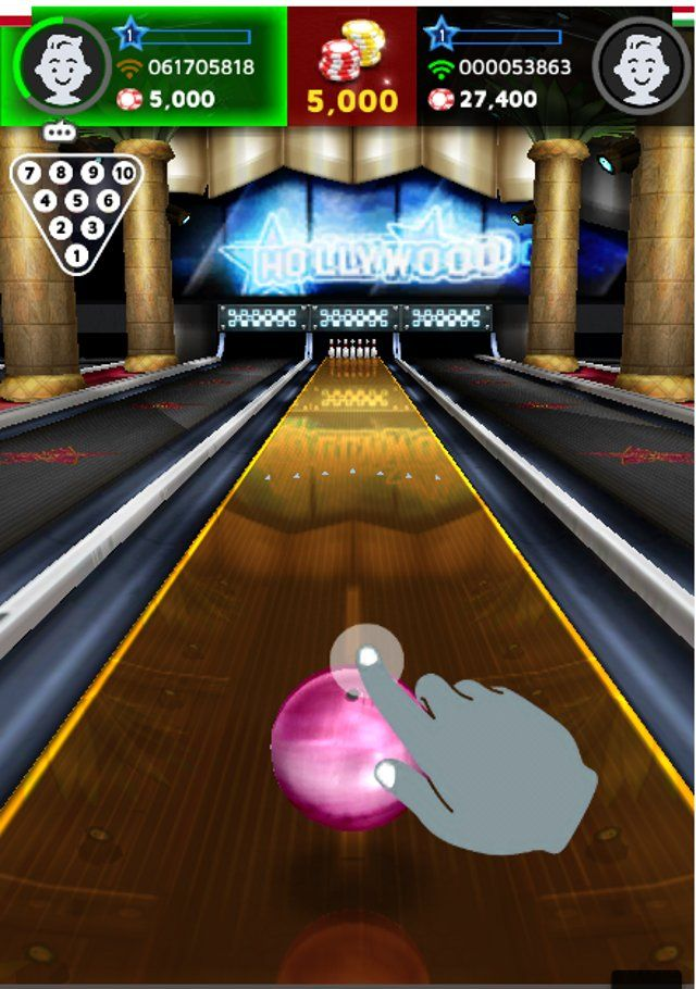 Free Online Multiplayer Bowling Game