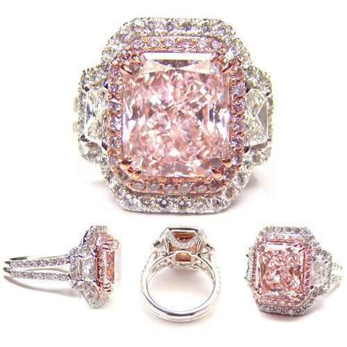 4.03ct Fancy Light Pink Diamond Ring - would love to have this for my upcoming 25th Anniversary!!