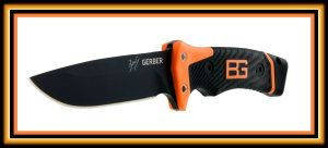 Gerber 31-001901 Bear Grylls Ultimate Pro Fixed Blade, Survival Knife with Sheath Okay so this knife has been upgraded from the original knife that was 7Cr17MoV to 9Cr19MoV. It has full tang (full tang for those who do not know, is when the whole knife is made up of one solid piece of steel,) and has been designed to take a beating.  http://theceramicchefknives.com/military-combat-knives/ Combat Knives, Fixed Blade, Gerber 31-001901 Bear Grylls Ultimate Pro Fixed Blade,