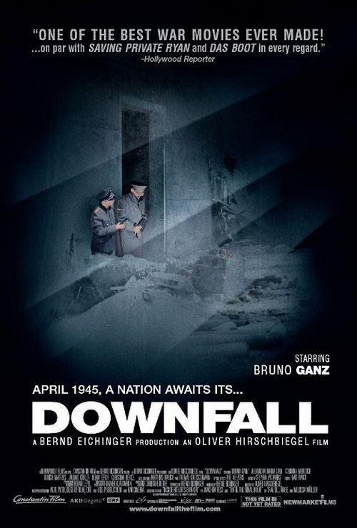 """""""The last ten days of Adolf Hitler."""" #Oliver_Hirschbiegel #Der_Untergang #Downfall #movie #film #cinema #motion_picture #poster"""