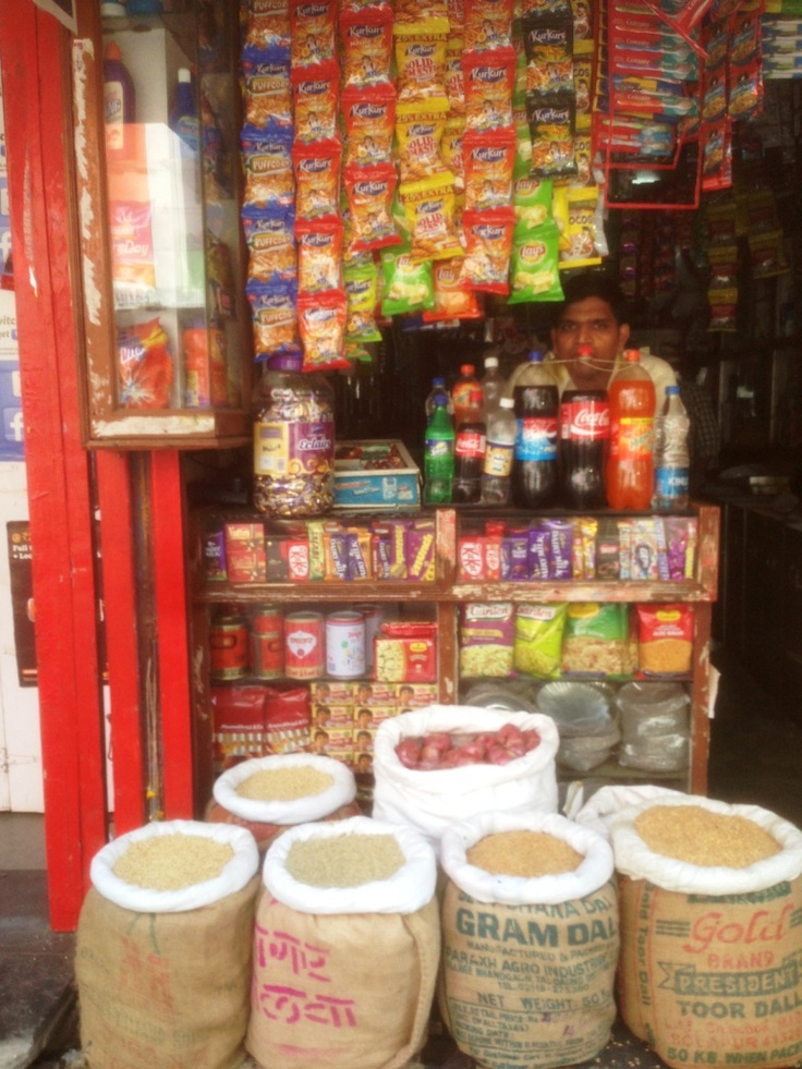A different kind of supermarket - Mumbai