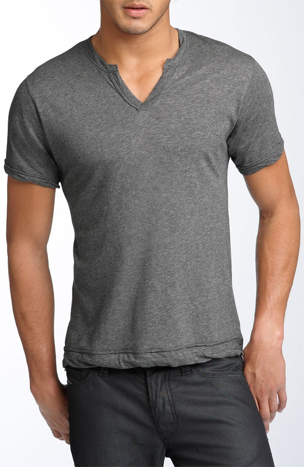 Alternative 'Moroccan' Trim Fit Henley, $38.00 http://via.ste.ph/AA1JSh via @Kyle Brown