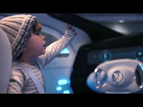 "Mercedes Benz TV: Mercedes-Benz F 015 TV commercial ""Baby"". - YouTube"