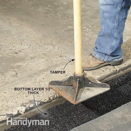 driveway crack repair in north haven ct