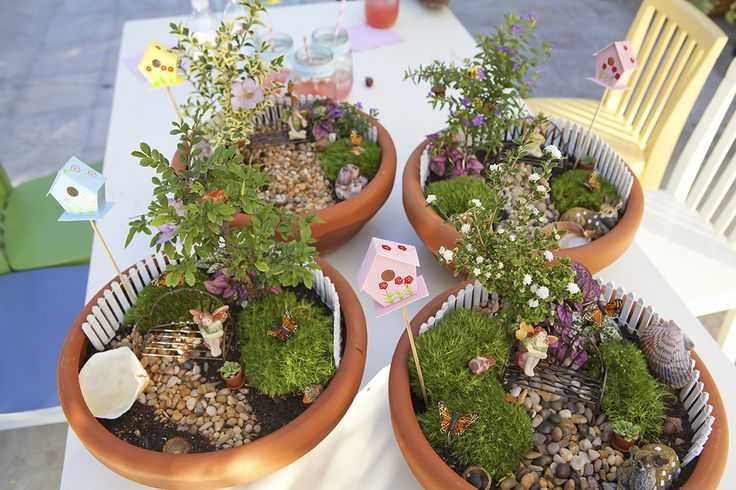 Fairy Gardens: Party ideas for little girls!