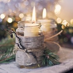 Decor & details inspiration for creating a Rough Luxe look for your Winter wedding  Image credit: Design Rulz