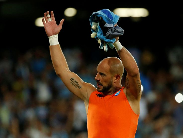 Agent: Pepe Reina 'is delighted to be staying with Napoli'